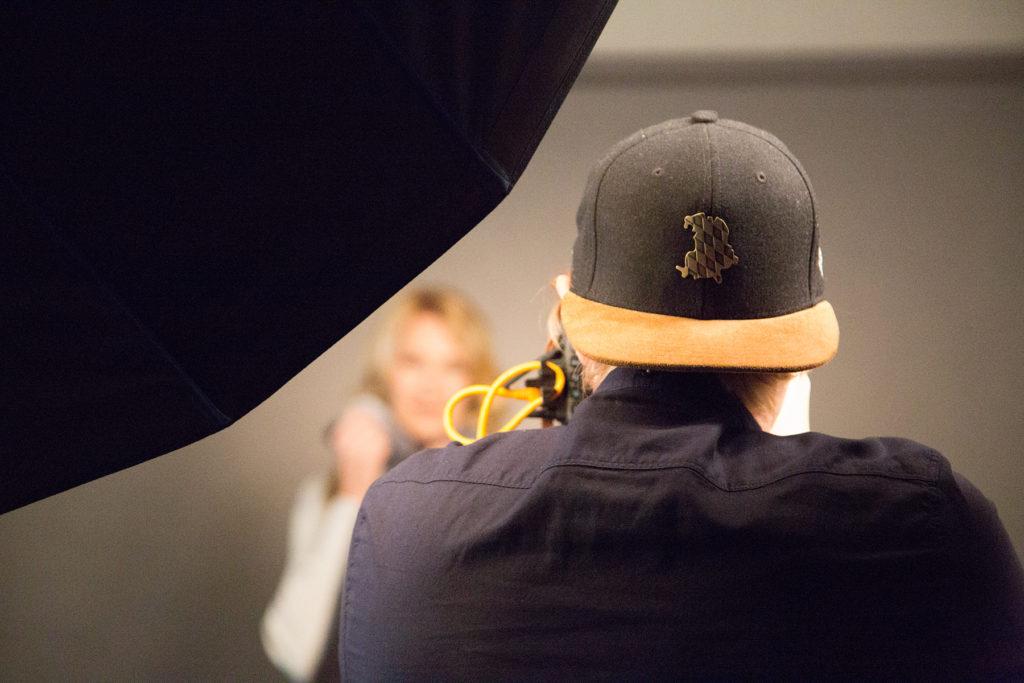 Behind the Scenes: Shooting mit dem RIEGG Fotostudio und Stefanie Graf