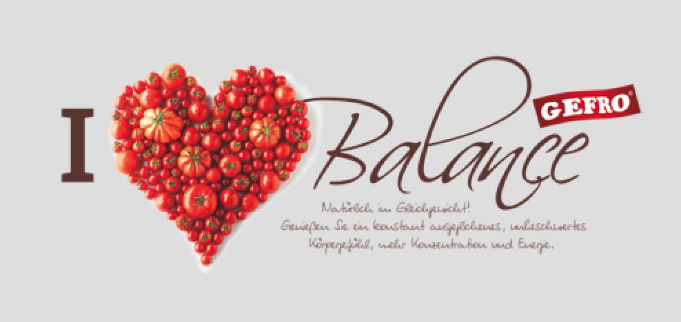 I love Balance von GEFRO - Logo Food PR