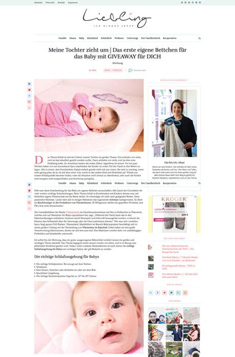 Blogger-Kooperation Liebling, ich blogge jetzt x Träumeland