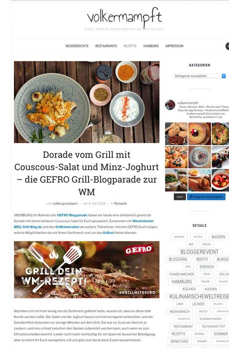 Blogger-Kooperation Volkermampft x Gefro