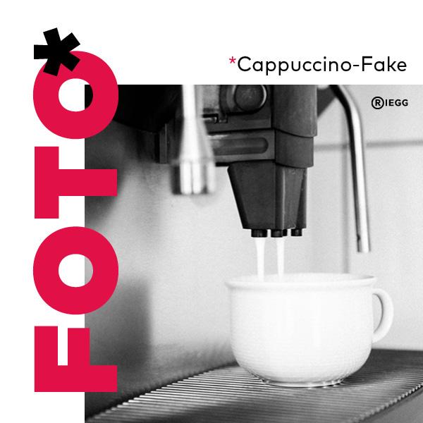 Cappucino-Zubereitung mit einem Kaffeevollautomaten