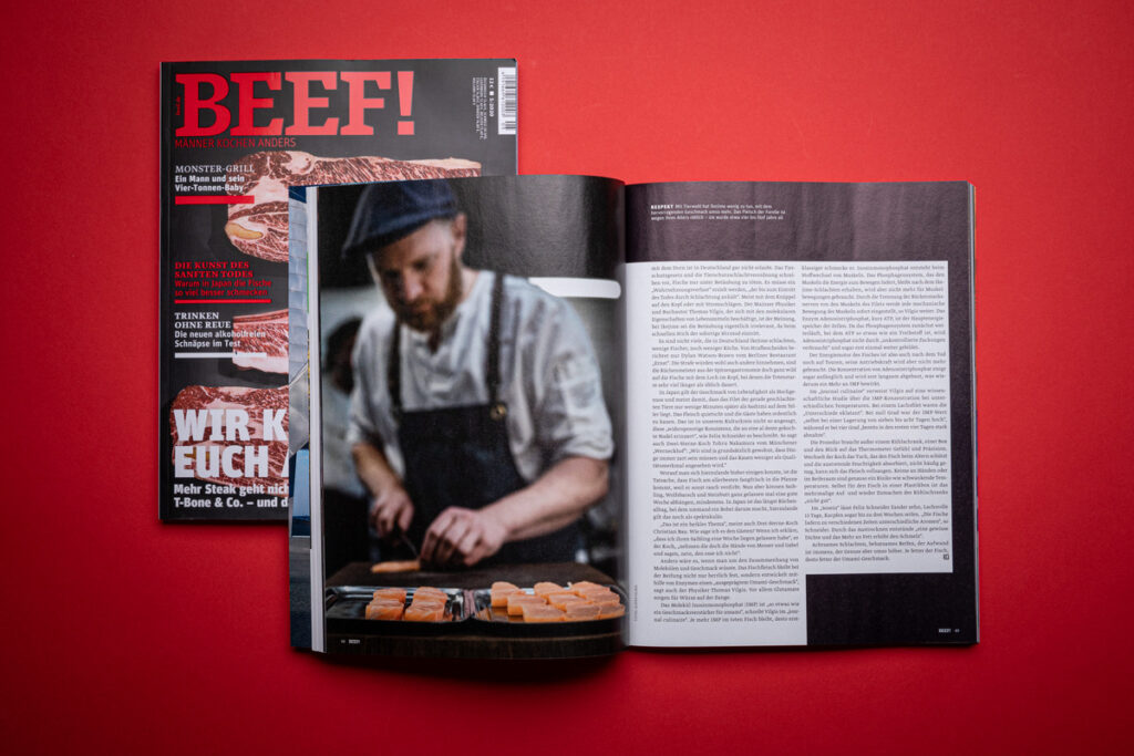 Fotografenmeister Jesper Hilbig – Feature in der Zeitschrift BEEF!