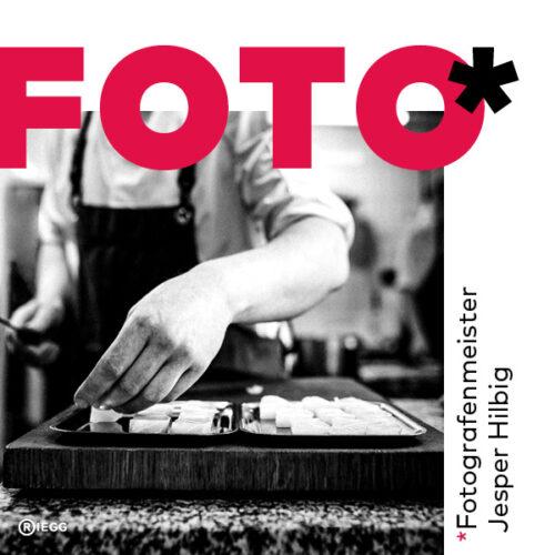 Fotografenmeister Jesper Hilbig – Teaserbild, auf dem ein Koch geschnittenen Fisch anrichtet